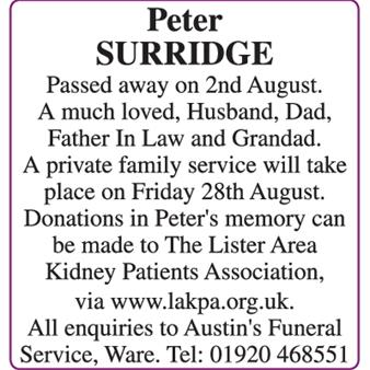 Peter Surridge