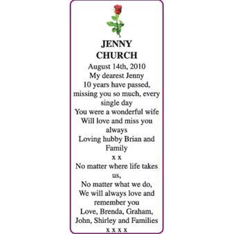 JENNY CHURCH