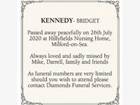 BRIDGET KENNEDY