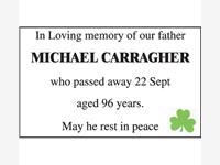 MICHAEL CARRAGHER