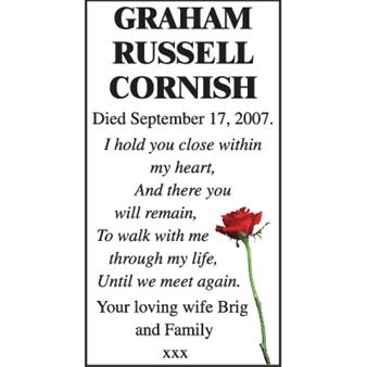 Graham Russell Cornish