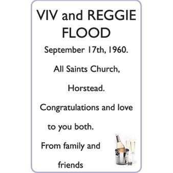 VIV and REGGIE FLOOD