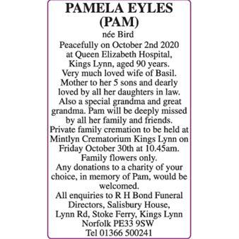 PAMELA EYLES