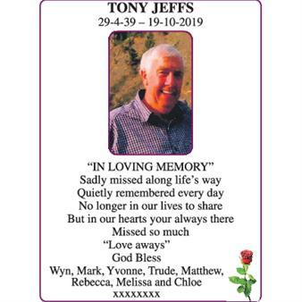 Tony Jeffs