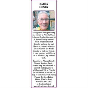 BARRY HENRY