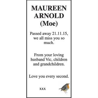 Maureen Arnold