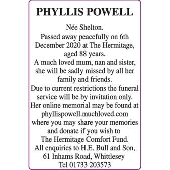 PHYLLIS POWELL