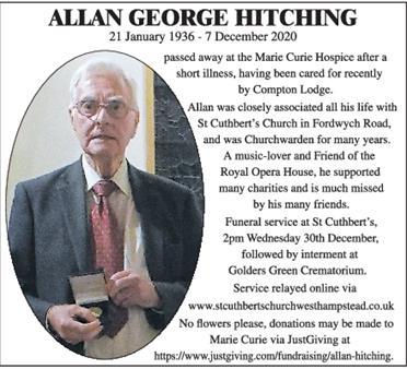 ALLAN HITCHING