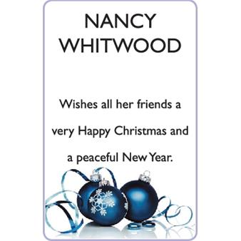 NANCY WHITWOOD