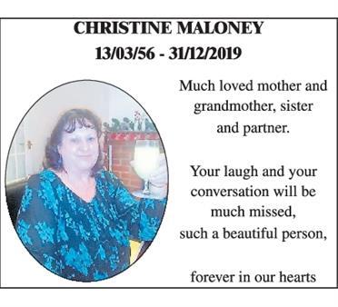 CHRISTINE MALONEY
