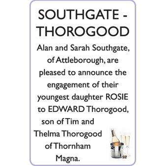 SOUTHGATE-THOROGOOD