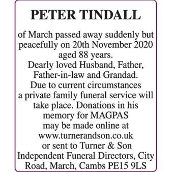 PETER TINDALL