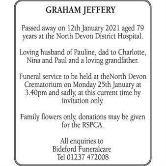 Graham Jeffery
