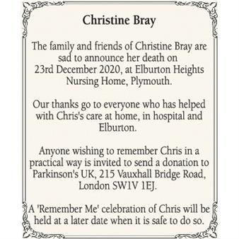 Christine Bray