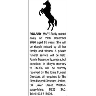 MARY POLLARD