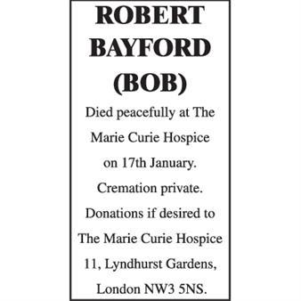 Robert Bayford