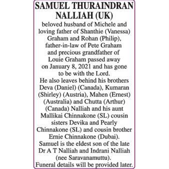 SAMUEL THURAINDRAN NALLIAH