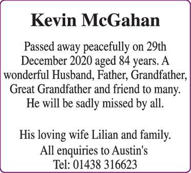 Kevin McGahan