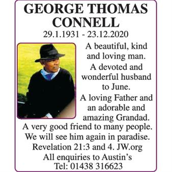 George Thomas Connell