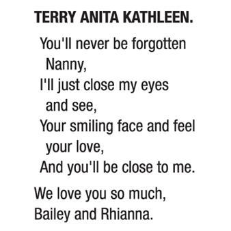 ANITA KATHLEEN TERRY