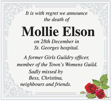 Mollie Elson