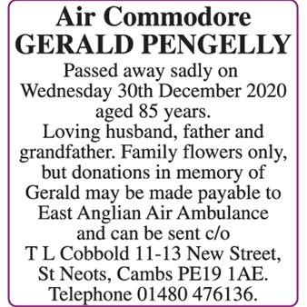 GERALD PENGELLY