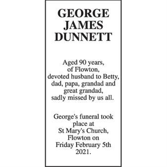 George James Dunnett,