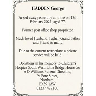 George Hadden