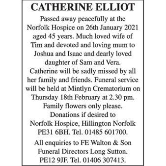 Catherine Elliot