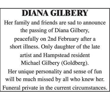 Diana Gilbery
