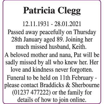 Patricia Clegg