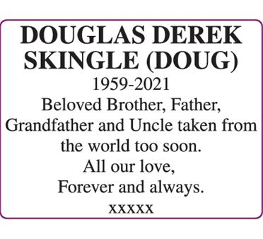 DOUGLAS SKINGLE