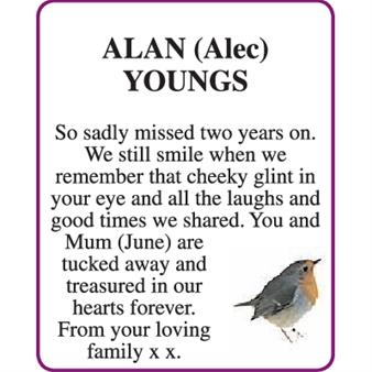ALAN (Alec) YOUNGS