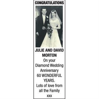 JULIE AND DAVID MORTON