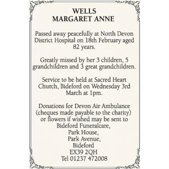 Margaret Wells