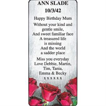 Ann Slade
