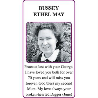 ETHEL MAY BUSSEY (Ping)