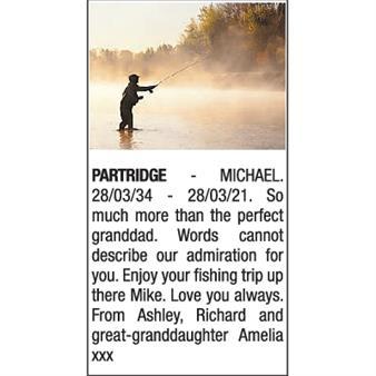 MICHAEL PARTRIDGE