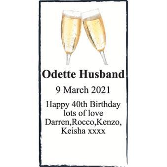 Odette Husband