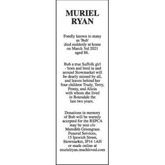 MURIEL RYAN