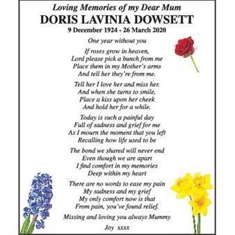 Doris Lavinia Dowsett