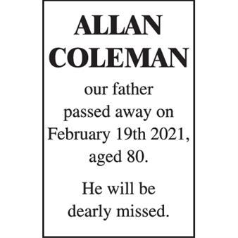 Allan Coleman