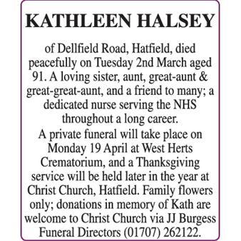 KATHLEEN HALSEY