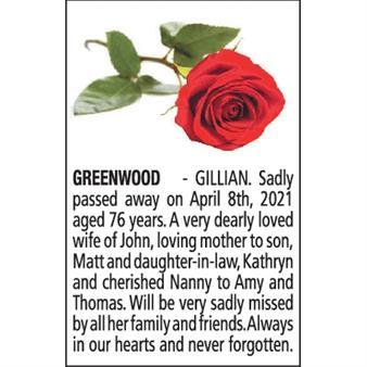 GILLIAN GREENWOOD