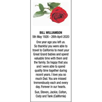 BILL WILLIAMSON