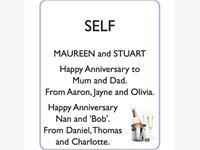 MAUREEN and STU SELF