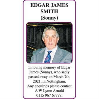 EDGAR JAMES (Sonny) SMITH