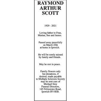 Raymond Arthur Scott