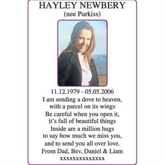 HAYLEY NEWBERY