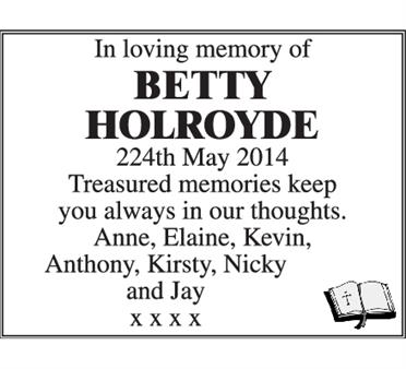 Betty Holroyde